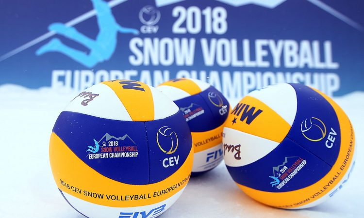 Snow-Volleyball Europameisterschaft Wagrain