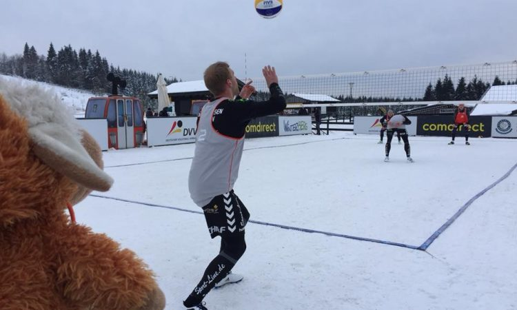 Snow-Volleyball Deutsche Meisterschaft 2018