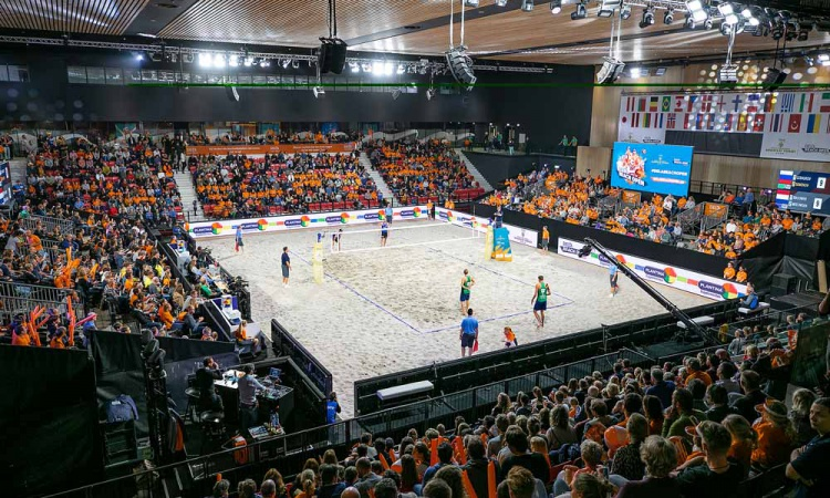 FiVB World Tour 4-Star Den Haag Spielort