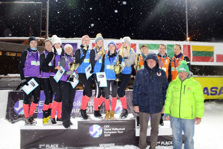 20190217-CEV-Snow-Volleyball-Bakuriani-Podest-Frauen
